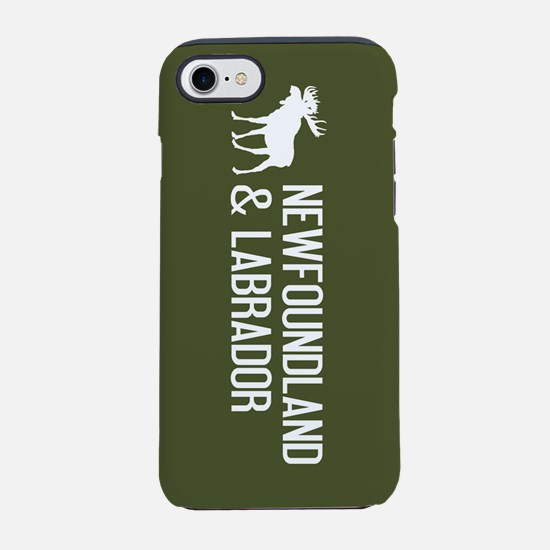 Newfoundland and Labrador Moos iPhone 7 Tough Case