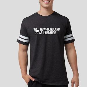 Newfoundland and Labrador Moos Mens Football Shirt
