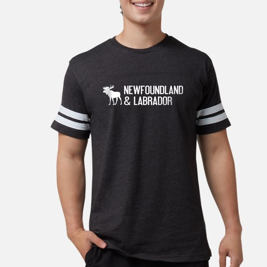 Newfoundland and Labrador Moos Mens Football Shirt