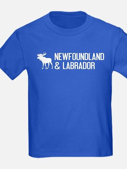 Newfoundland and Labrador Moose T