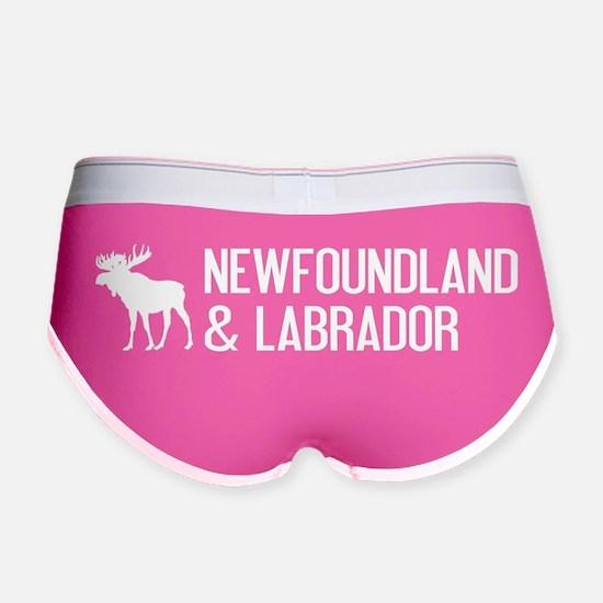 Newfoundland and Labrador Moose Women's Boy Brief