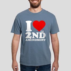 I Heart the 2nd Amendment Mens Comfort Colors Shir