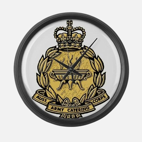 AACC badge Large Wall Clock