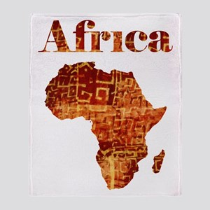 Ethnic Africa Throw Blanket