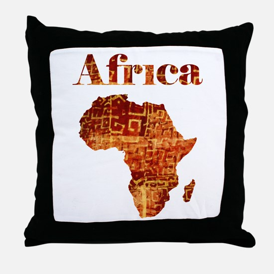 Ethnic Africa Throw Pillow