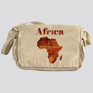 Ethnic Africa Messenger Bag