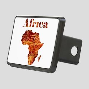 Ethnic Africa Rectangular Hitch Cover