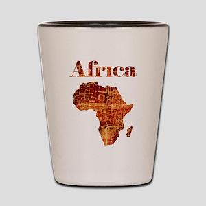 Ethnic Africa Shot Glass