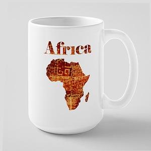 Ethnic Africa Large Mug