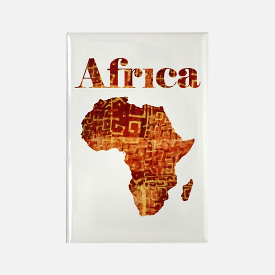 Ethnic Africa Rectangle Magnet