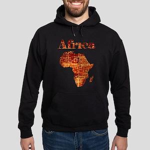 Ethnic Africa Hoodie (dark)