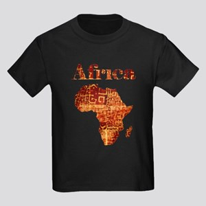 Ethnic Africa Kids Dark T-Shirt