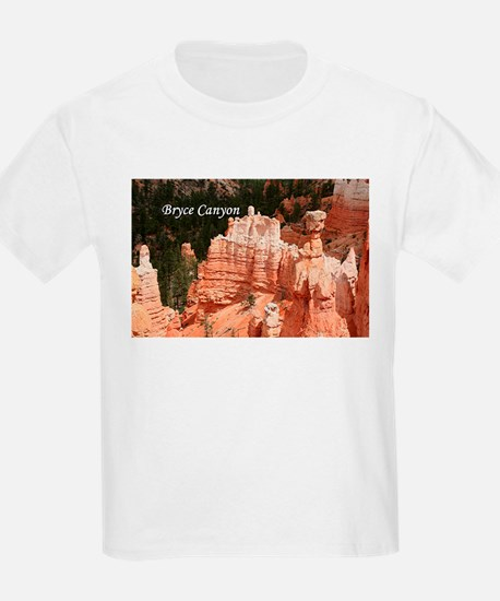 Bryce Canyon, Utah 3 (caption) T-Shirt