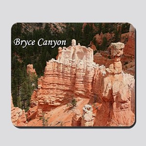 Bryce Canyon, Utah 3 (caption) Mousepad