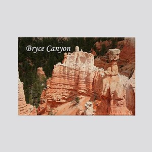 Bryce Canyon, Utah 3 (caption) Rectangle Magnet