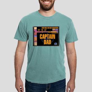 Captain Dad Mens Comfort Colors Shirt