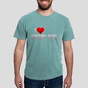 I Heart Yeoman Rand Mens Comfort Colors Shirt