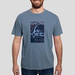 Retro Star Trek:DS9 Poster Mens Comfort Colors Shi