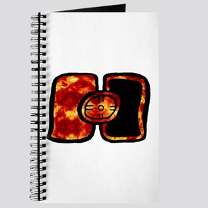 Fiery Maya Solar Eclipse Glyph Journal