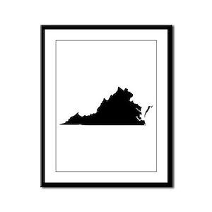 Black Framed Panel Print