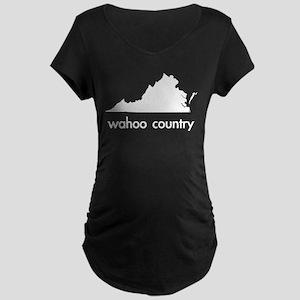 White Maternity Dark T-Shirt