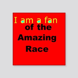 """Fans and Friends of the """"AmazingRaceTV"""" Sticker"""