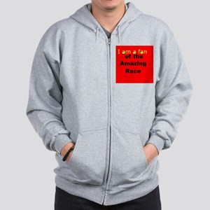 """Fans and Friends of the """"AmazingRaceTV"""" Zip Hoodie"""