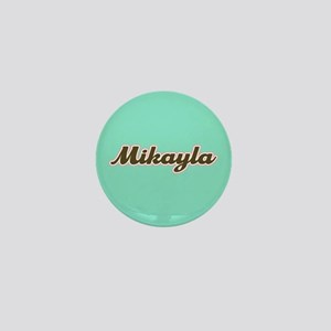 Mikayla Aqua Mini Button