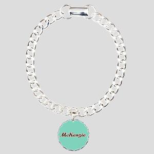 McKenzie Aqua Bracelet