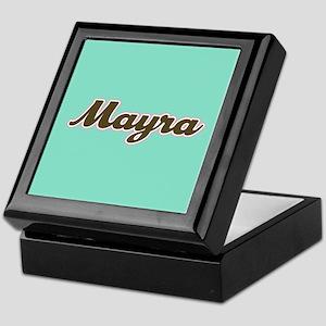 Mayra Aqua Keepsake Box