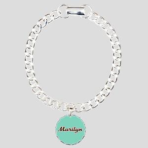 Marilyn Aqua Bracelet