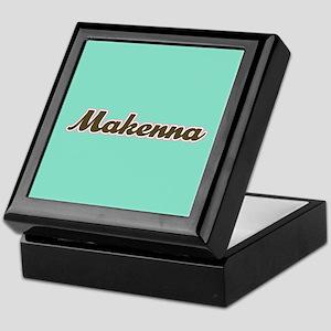 Makenna Aqua Keepsake Box