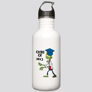 Class of 2013-Zombie with Hat Water Bottle