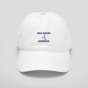 High School Survivor-Zombie-blue Baseball Cap