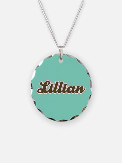 Lillian Aqua Necklace