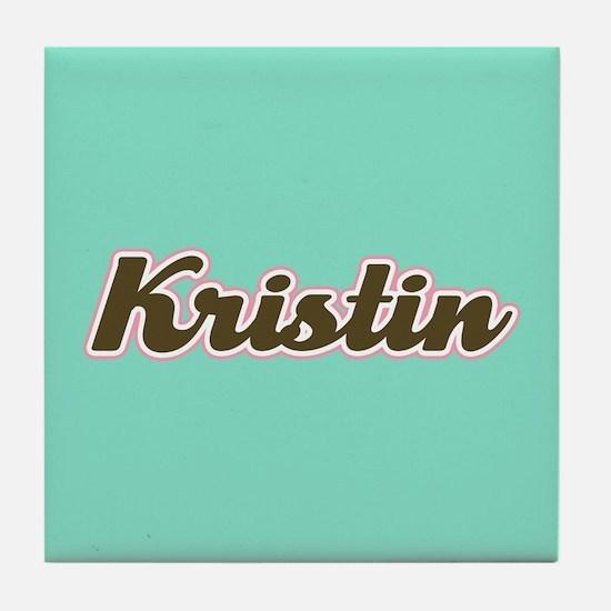 Kristin Aqua Tile Coaster
