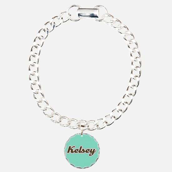 Kelsey Aqua Bracelet