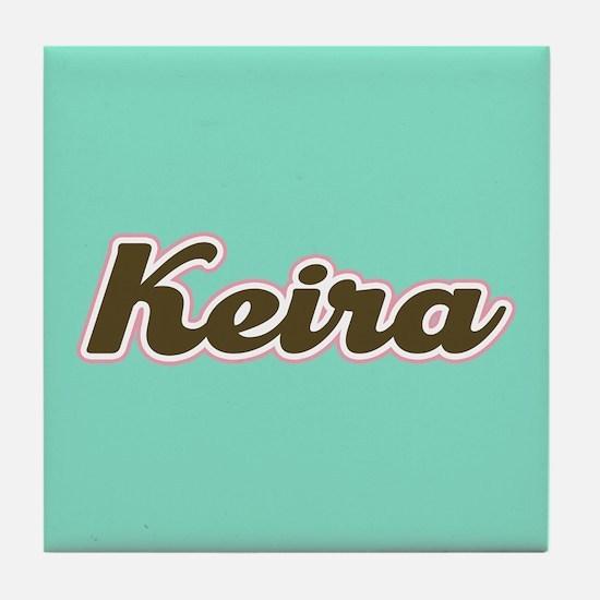 Keira Aqua Tile Coaster