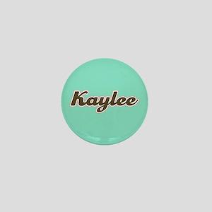 Kaylee Aqua Mini Button