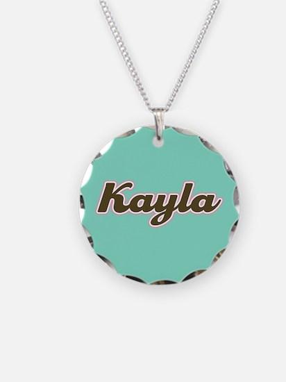 Kayla Aqua Necklace