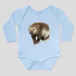Wolverine Animal Long Sleeve Infant Bodysuit