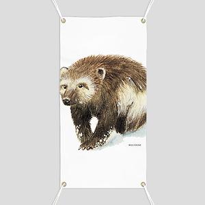 Wolverine Animal Banner