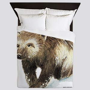 Wolverine Animal Queen Duvet