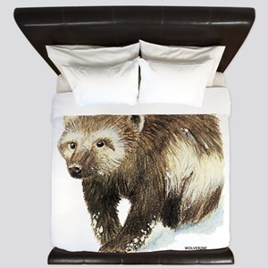Wolverine Animal King Duvet