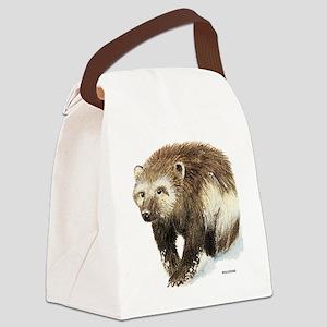 Wolverine Animal Canvas Lunch Bag