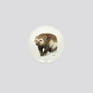 Wolverine Animal Mini Button