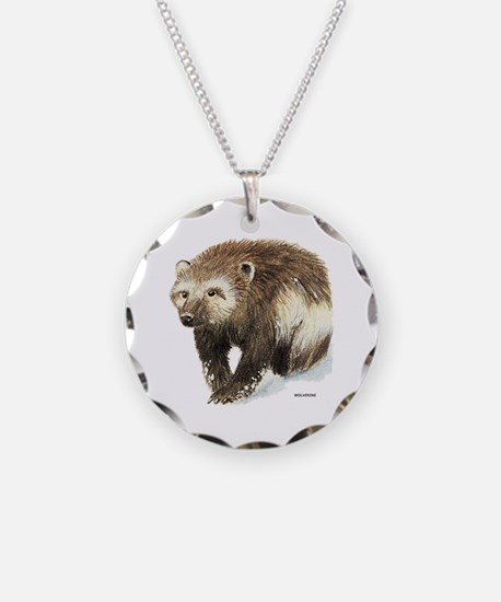 Wolverine Animal Necklace