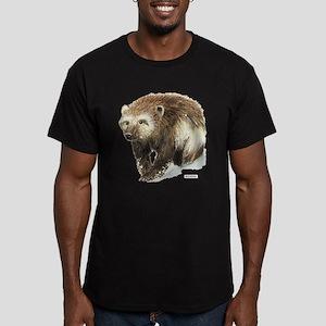 Wolverine Animal Men's Fitted T-Shirt (dark)