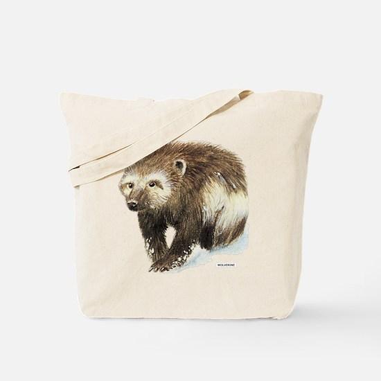 Wolverine Animal Tote Bag