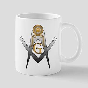 Masonic Silver Suns Mug